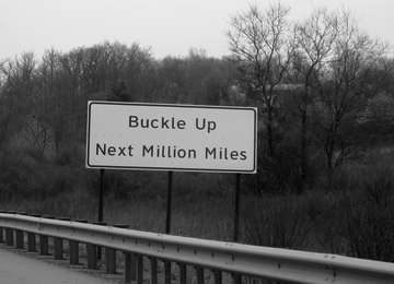 Buckle up next million miles!